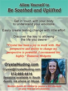 Crystal Nuding - Be Soothed and Uplifted