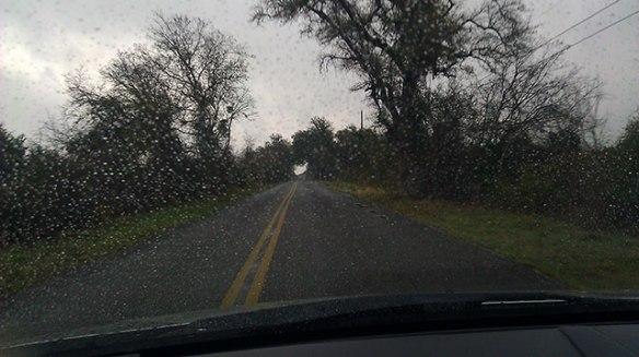 Rain showers!