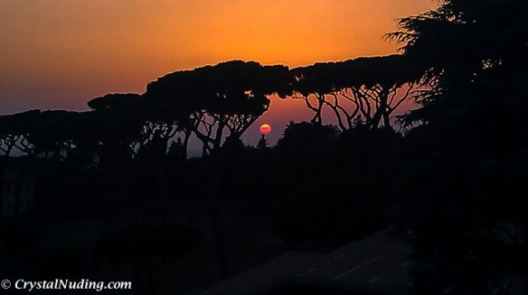 Castel Gandolfo Sunset