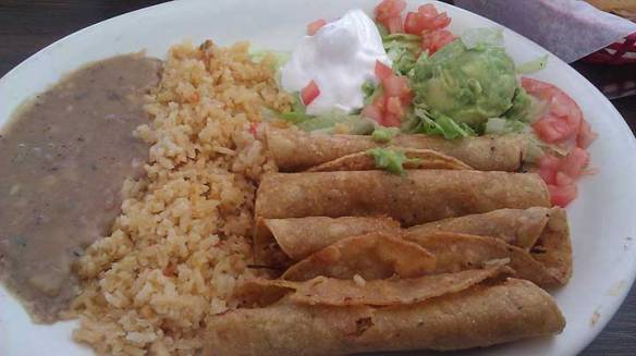 La Fonda Chicken Flautas! - CrystalNuding.com for Personal and Business Consulting