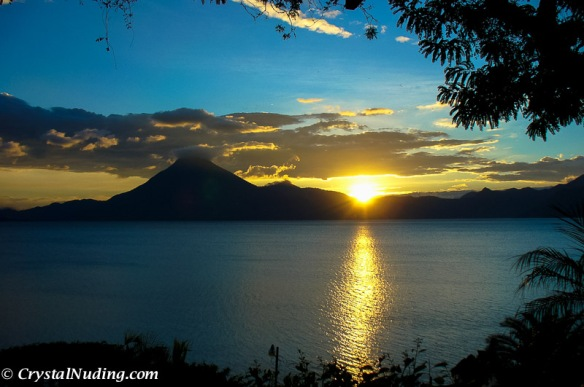 The landscape, like the people of Guatemala... beautiful.