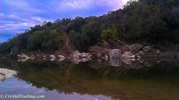 Reflections of the Blanco River